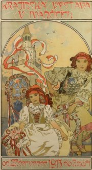Alfons Mucha,  Exhibition in Ivancice, 1912, Richard Fuxa Foundation