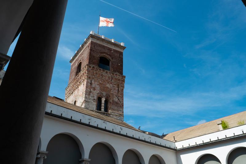 Palazzo Ducale di Genova - La Torre Grimaldina