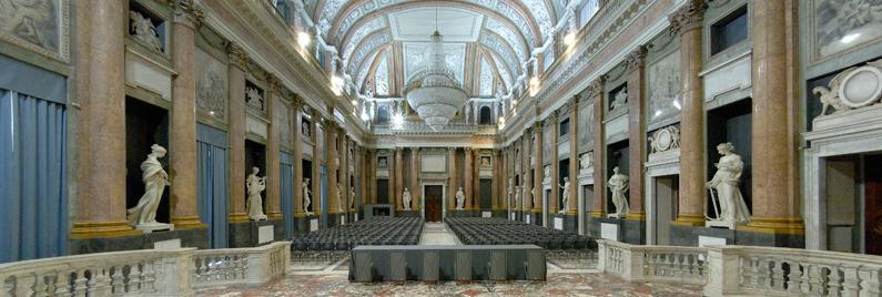 Palazzo Ducale di Genova Sale Attrezzate