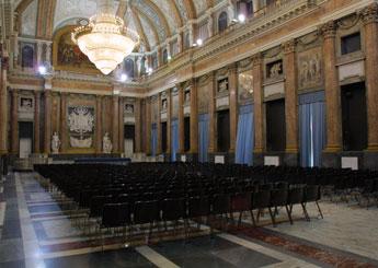 Palazzo Ducale di Genova Sale Attrezzate Sala del Maggior Consiglio