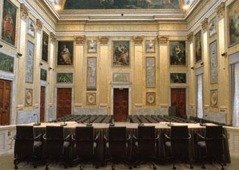 Palazzo Ducale di Genova Sale Attrezzate Sala del Minor Consiglio
